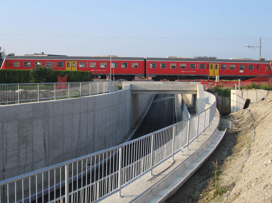 Podvozi Stranišče, Stražgonjca, Jablane in Tajčarjeva