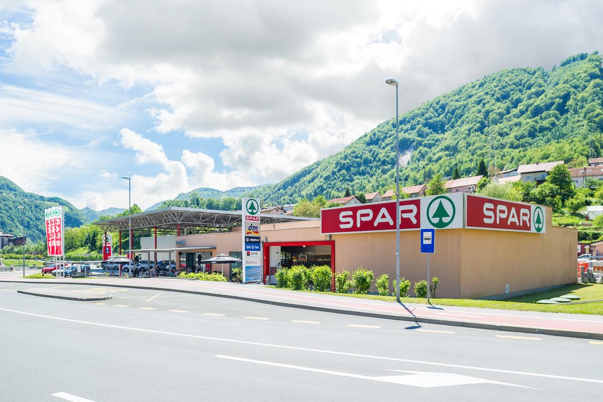Nakupovalni center Spar Zagorje