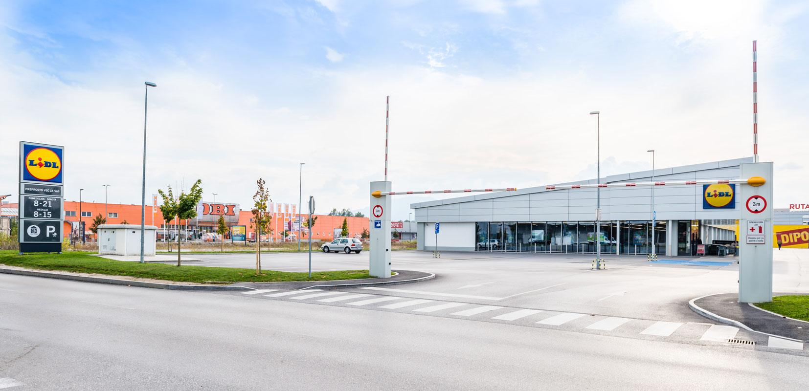 Trgovski objekt LIDL Rudnik, Ljubljana