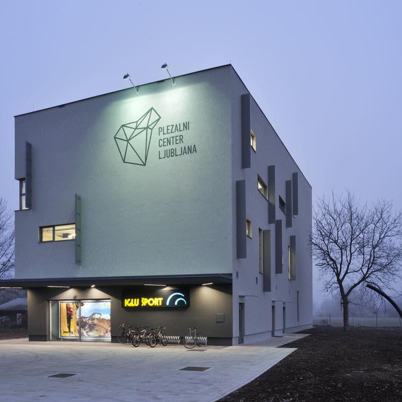 Plezalni center Štepanjsko naselje, Ljubljana