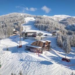 Gorska postaja kabinske žičnice G-Link, Wagrain