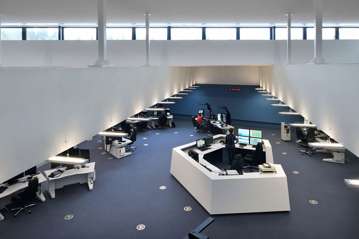 Center za vodenje in kontrolo zračnega prometa  ATCC, Brnik